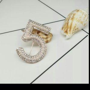 Jewelry - Luxury #5 brooch gold new